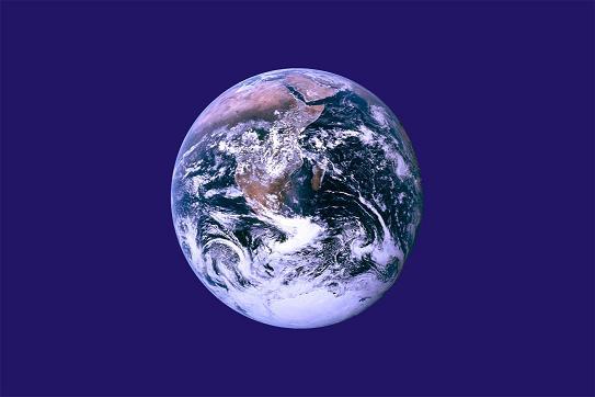 Earth Flag - Blue Marble